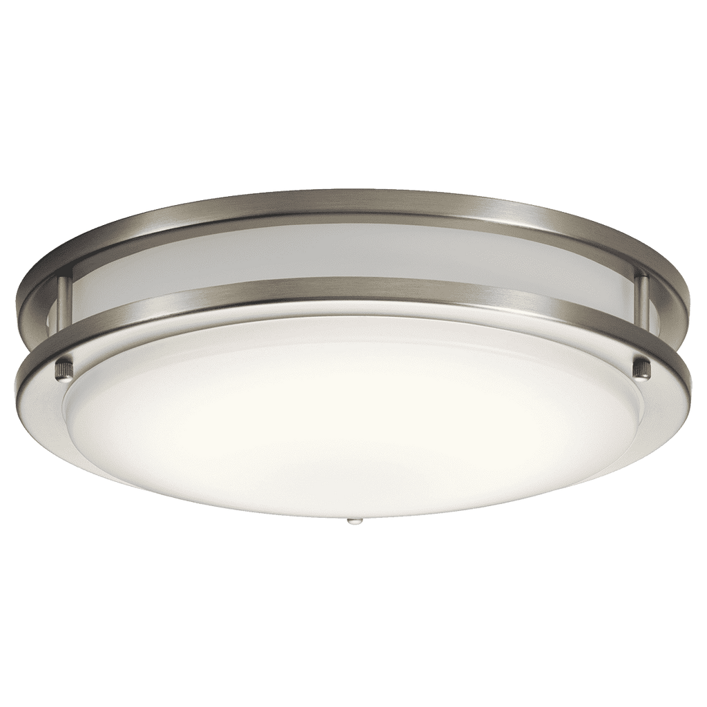 Avon Flush Mount LED - Brushed Nickel