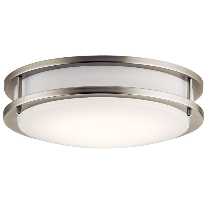 Flush Mount LED - Brushed Nickel