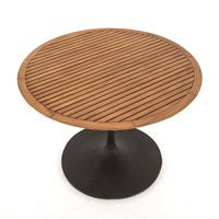 Rainier Outdoor Bistro Table - Natural Teak