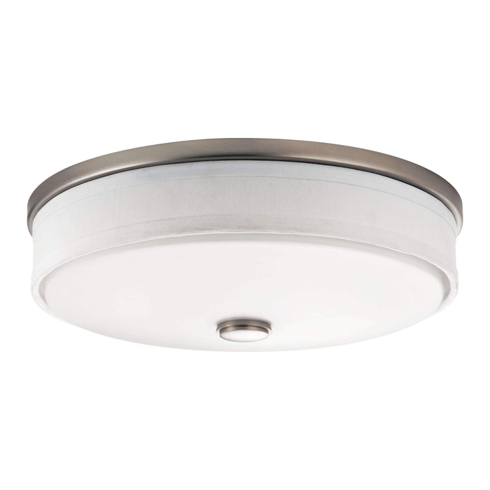 Ceiling Space Flush Mount LED - Brushed Nickel