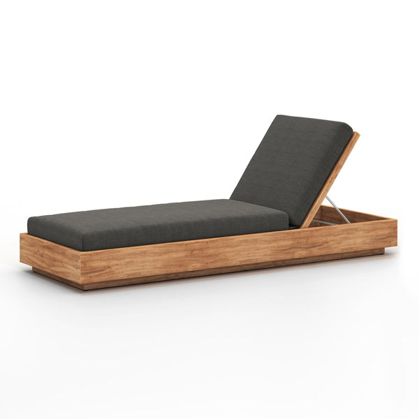 Kinta Outdoor Chaise-Charcoal