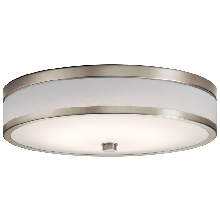 Pira Flush Mount LED - Brushed Nickel