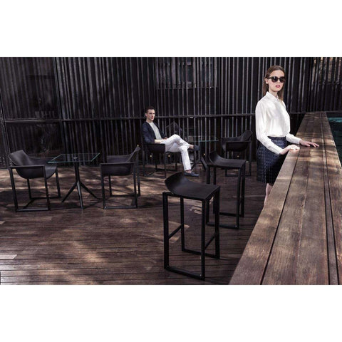 Black Wall Street Chair by Vondom