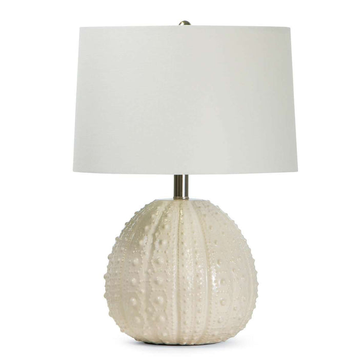 Sanibel Ceramic Table Lamp (Sea Foam)