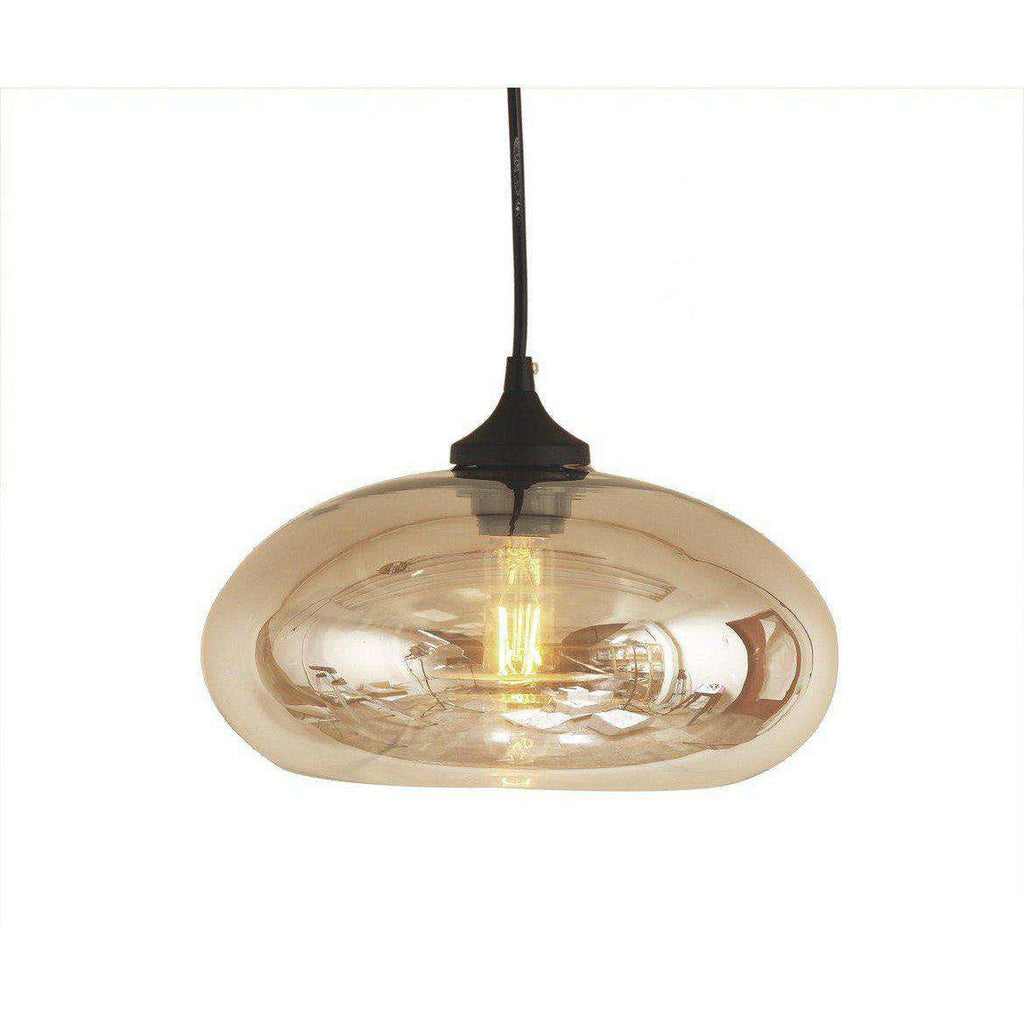 Mid-Century Modern Aurora Modern Pendant Light - Brown