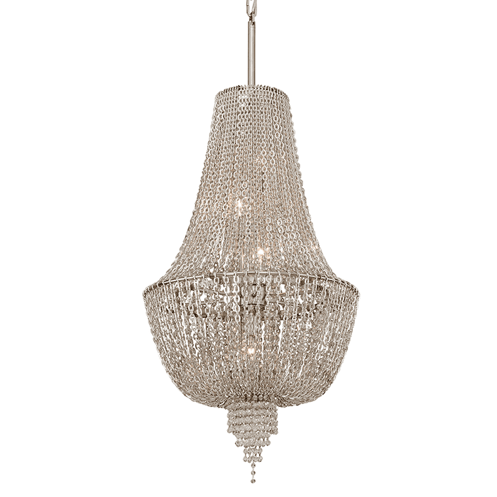 Vixen 5Lt Pendant Small Polished Nickel