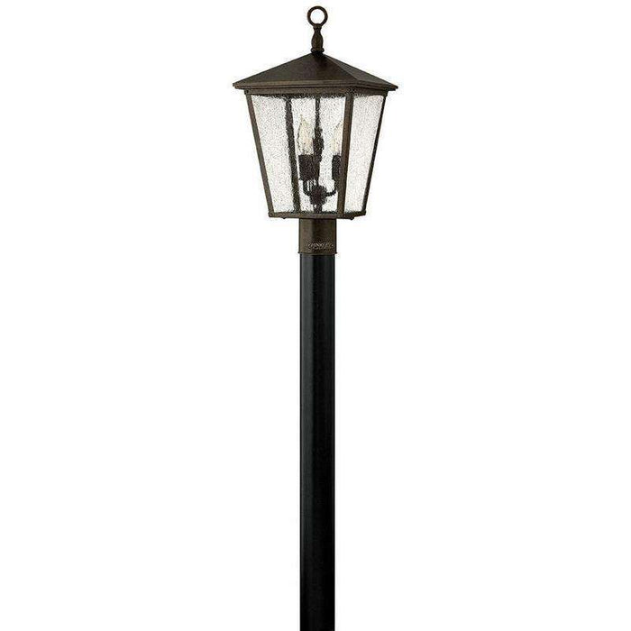 Outdoor Trellis Post Lantern