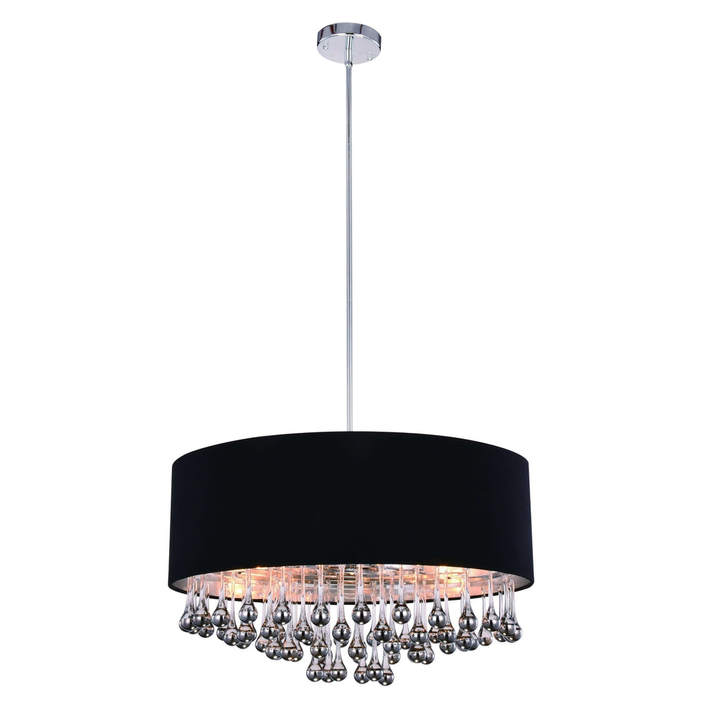6 Lights Metro Pendant