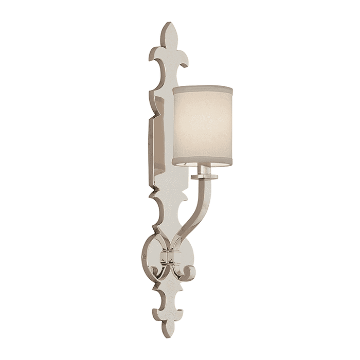 Esquire 1Lt Wall Sconce Polished Nickel