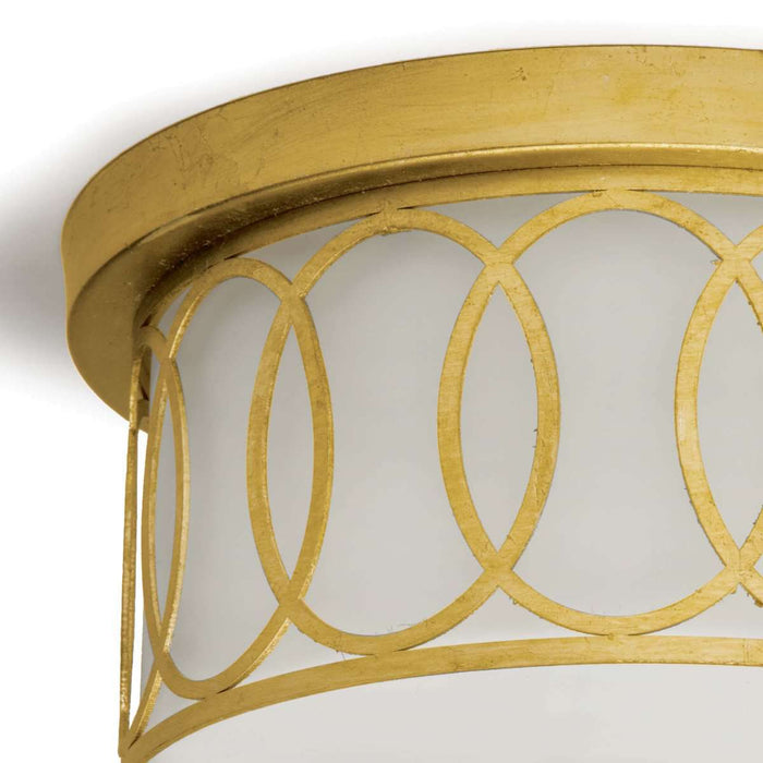 Fusion Flush Mount (Gold Leaf)
