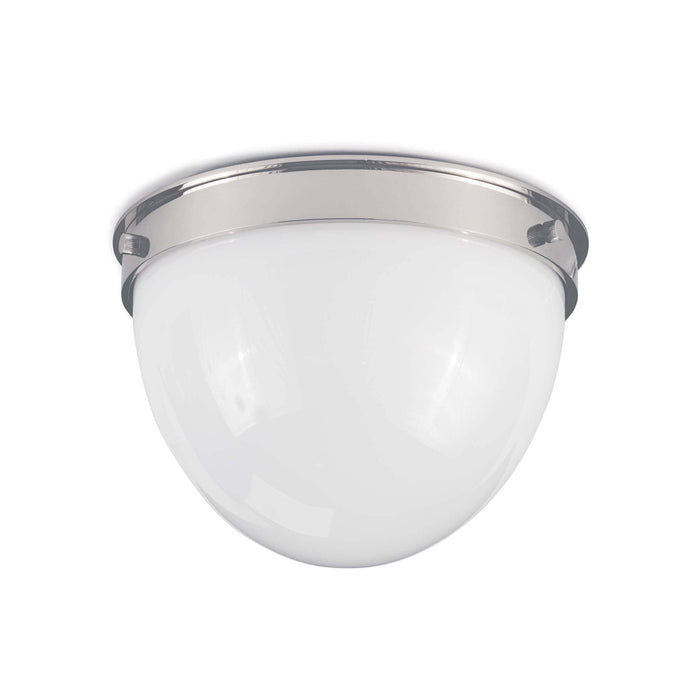 Coastal Living Bay Harbor Flush Mount (Polished Nickel)