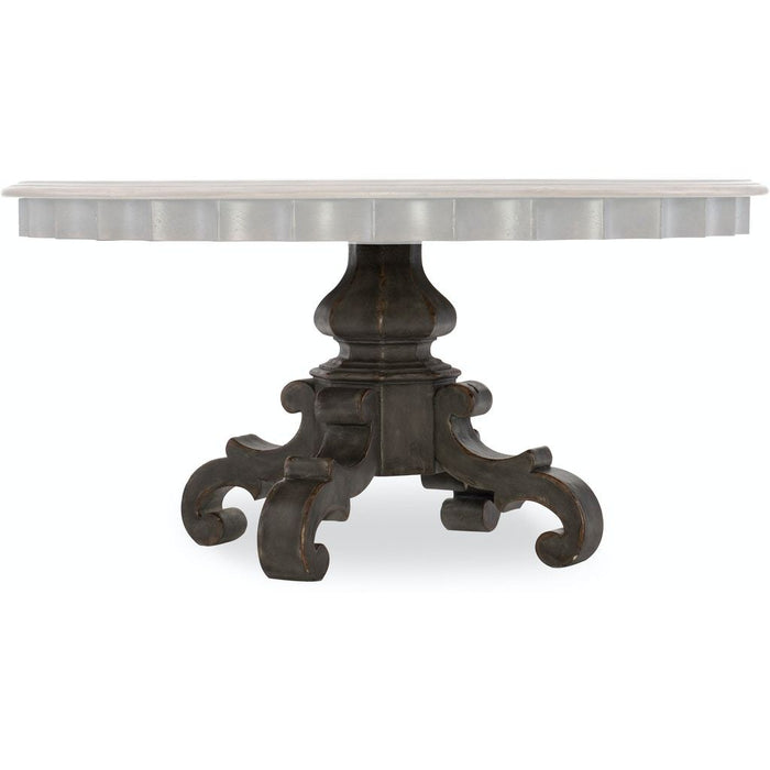 Arabella Round Pedestal Dining Table Base