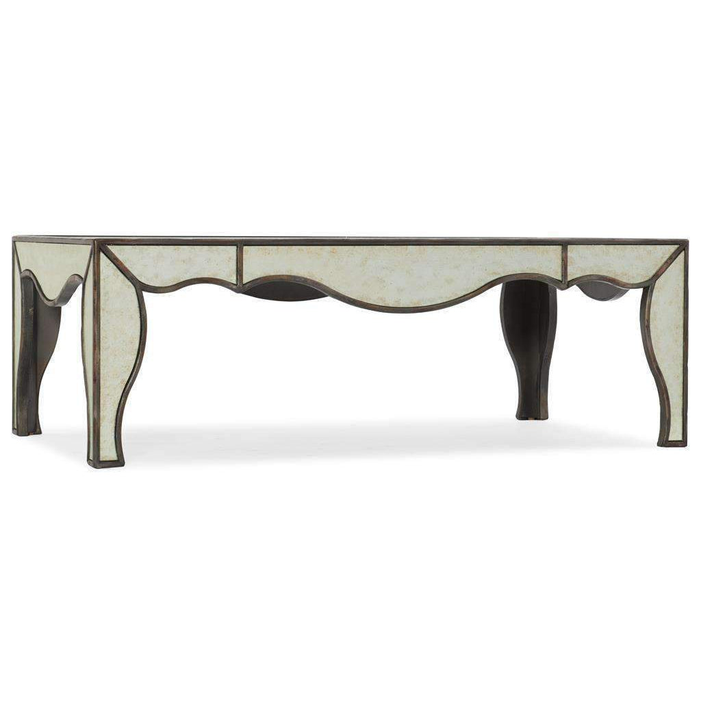 Arabella Mirrored Cocktail Table
