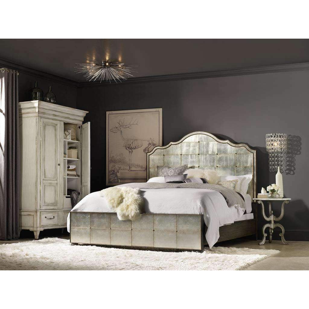 Arabella Mirrored Panel Bed *FREE WHITE GLOVE DELIVERY*