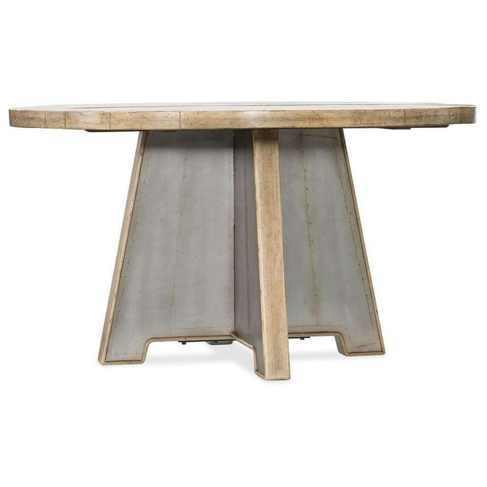"Urban Elevation 54"" Metal Dining Table"