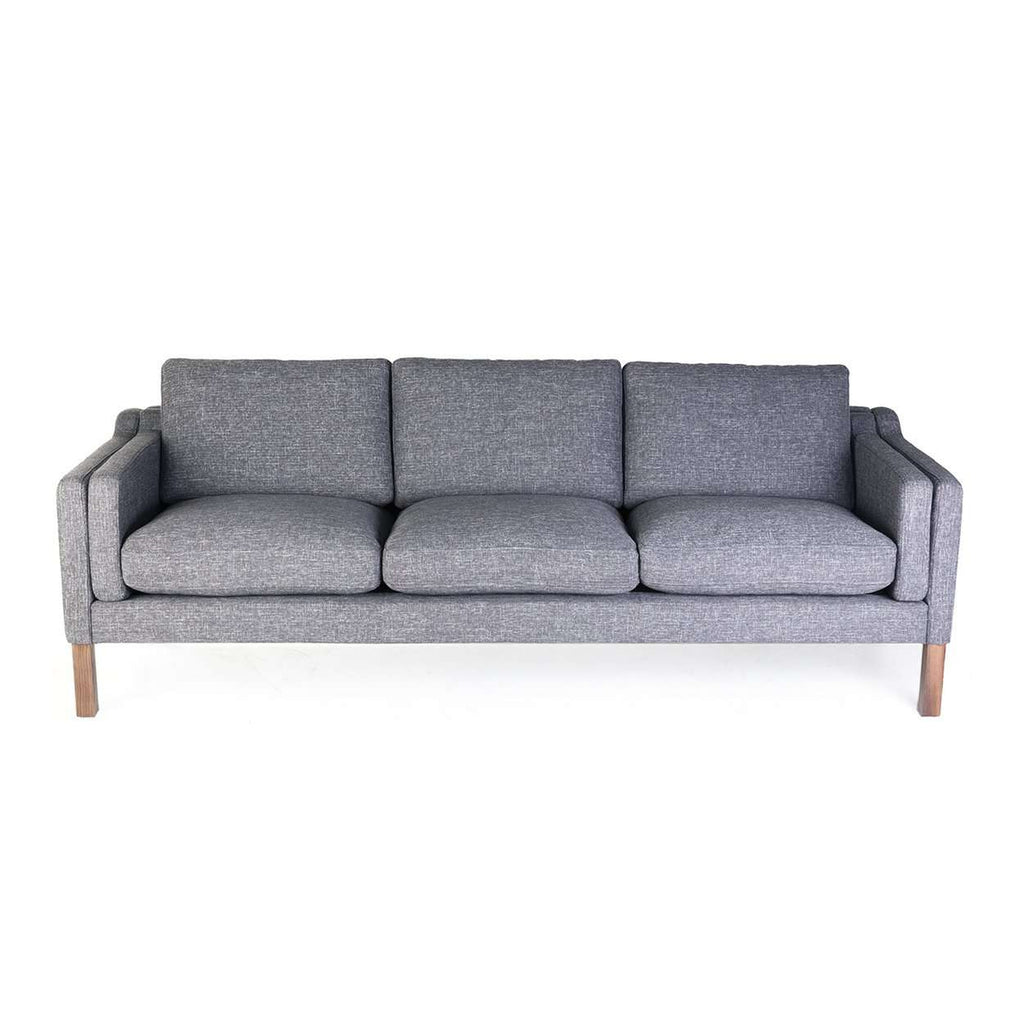 Mid-Century Modern Reproduction Mogensen 2213 Sofa - Grey Inspired by Borge Mogensen
