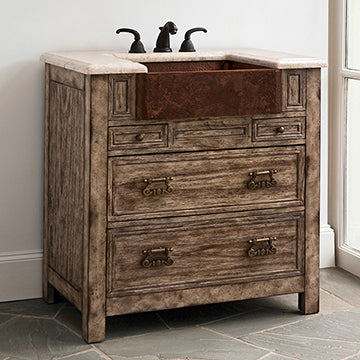 Bedford Ridge Sink Chest -   Vintage Finish
