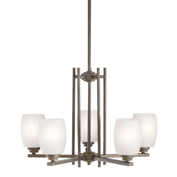 Eileen Chandelier 5 Light - Olde Bronze