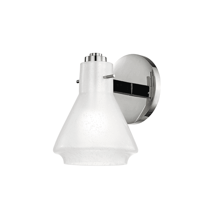 Rosie 1 Light Bath Bracket - Polished Nickel