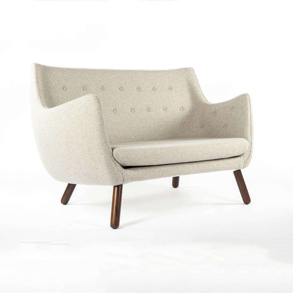 Mid-Century Modern Reproduction Poet Sofa - Wheat Inspired by Finn Juhl