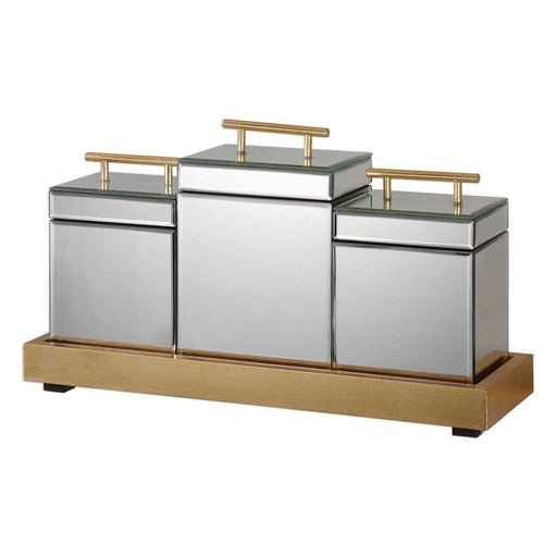 Faustina, Boxes and Tray, S/4