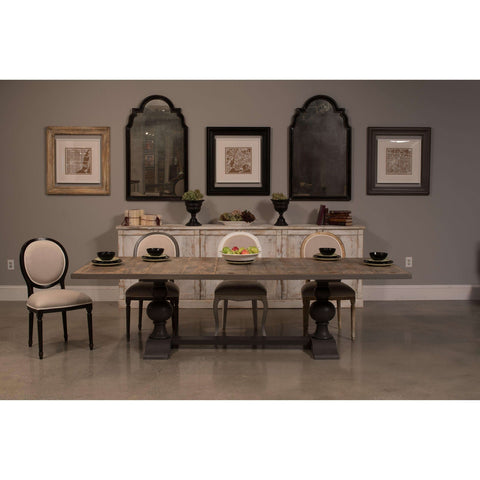 *Rectangular Dining Table, As Shown
