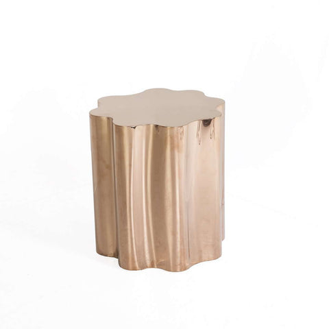 Modern Fideer Side Table - Rose Gold