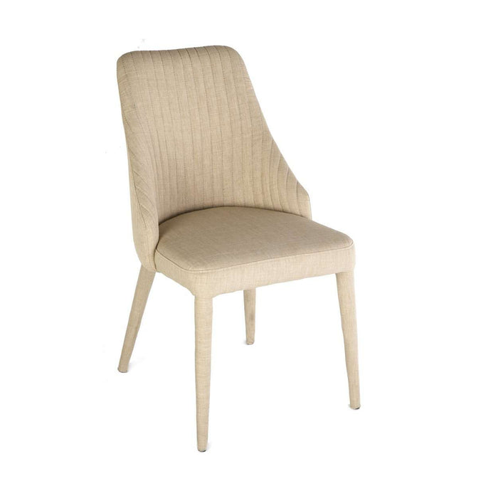 Modern Electra Ribbed Dining Side Chair