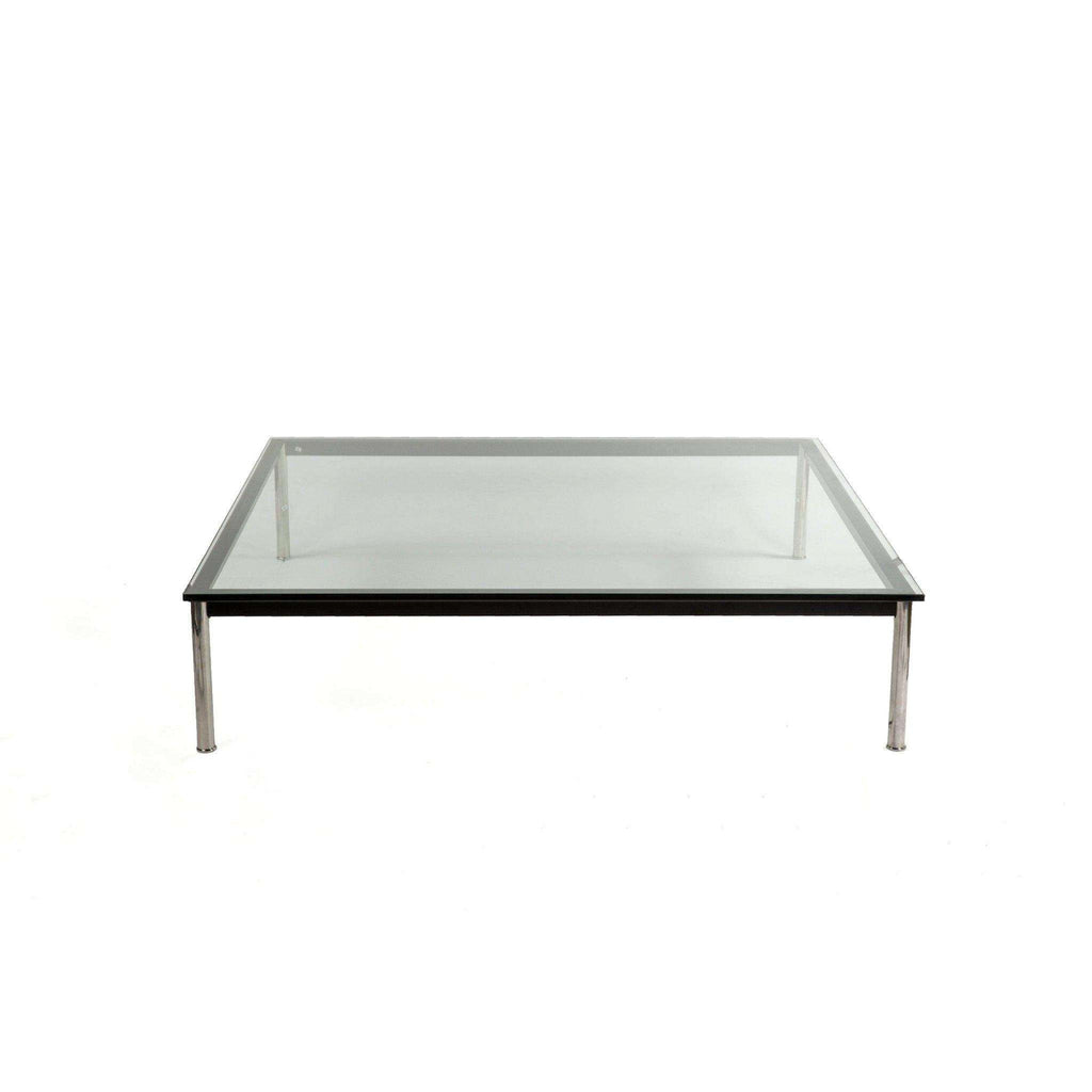 Mid-Century Modern Reproduction LC10 Square Low Coffee Table - Large 55 Inspired by Le Corbusier