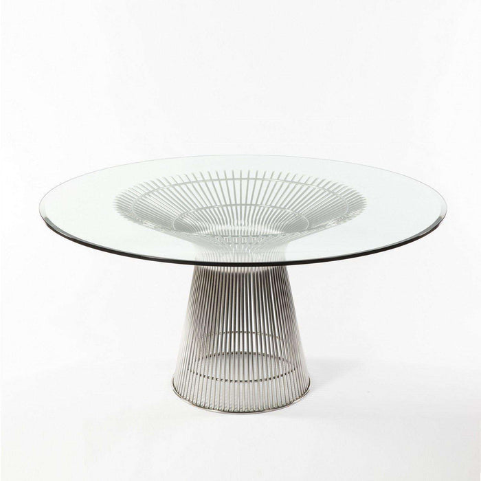 Mid-Century Modern Reproduction Platner Dining Table Inspired by Warren Platner