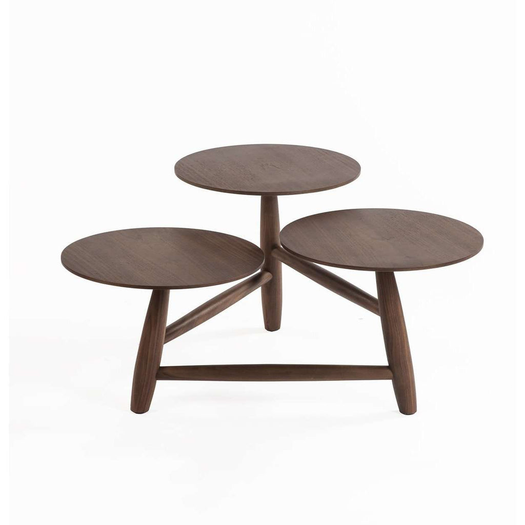 Mid-Century Modern Sean Dix Tripod and Pedestal Coffee Table