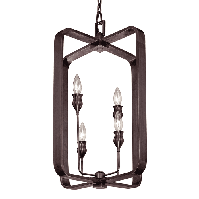 Rumsford 4 Light Pendant Old Bronze