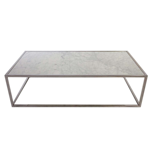 Tynd Carrara Marble Coffee Table [new Product]