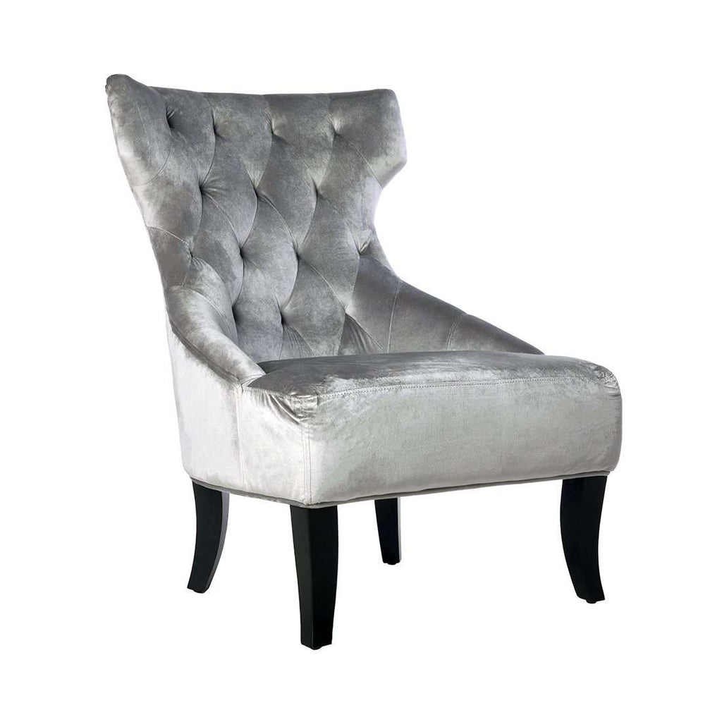 Irre Wing Slipper Chair   Grey   [pick Up Only] **free Local