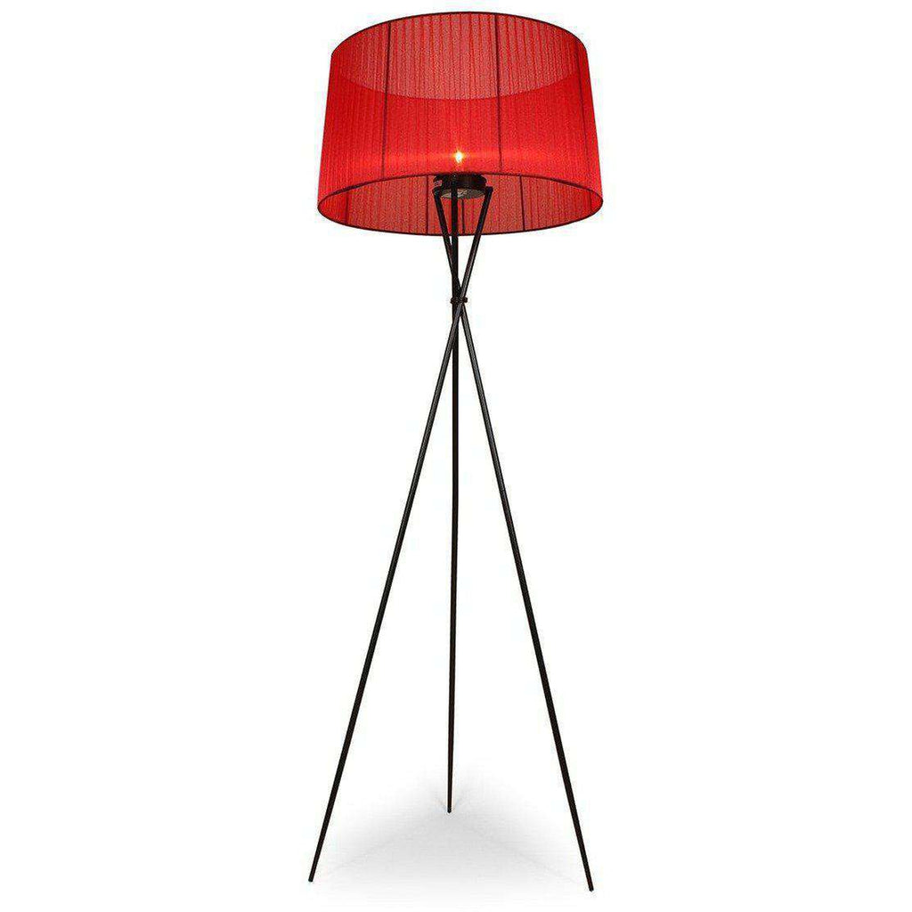 Mid-Century Modern Reproduction Tripode G5 Floor Lamp - Red Inspired ...