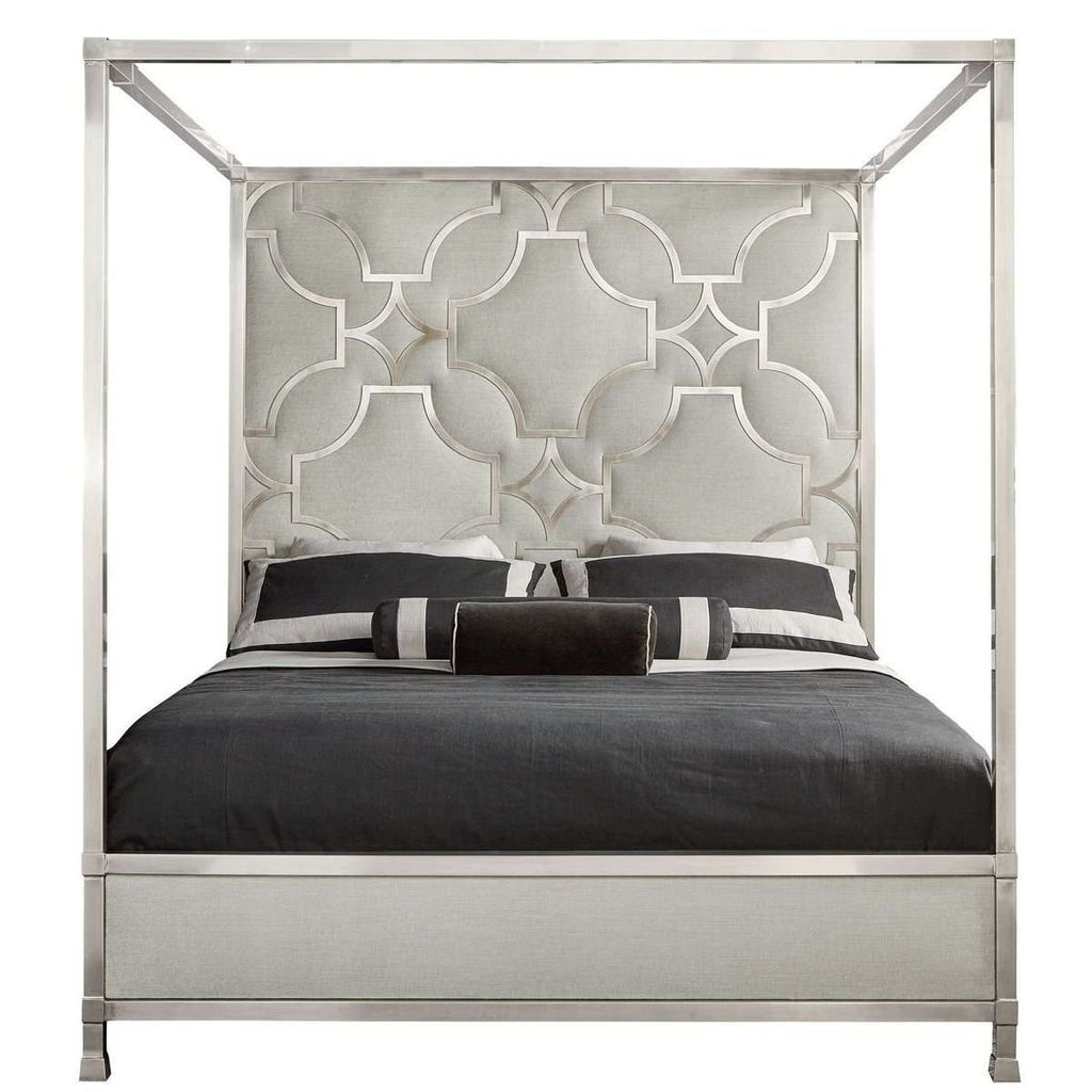 Blanche Metal Canopy Bed *FREE WHITE GLOVE DELIVERY*