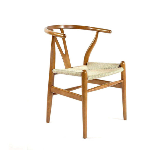 Mid-Century Modern Reproduction CH24 Wishbone Y Chair - Walnut Inspired by Hans Wegner