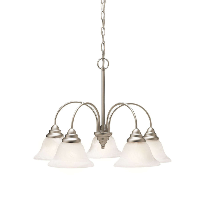 Telford Chandelier 5 Light - Brushed Nickel