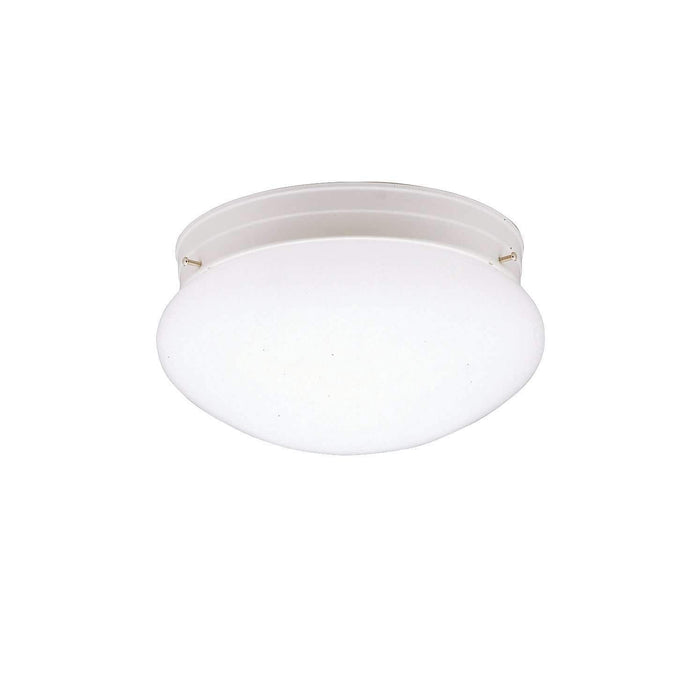 Ceiling Space Flush Mount 1 Light - White