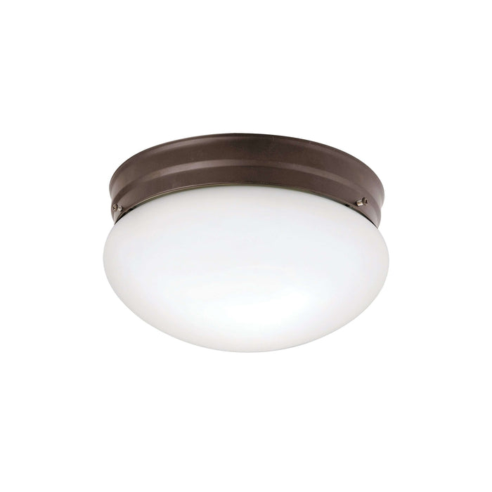 Ceiling Space Flush Mount 2 Light - Olde Bronze