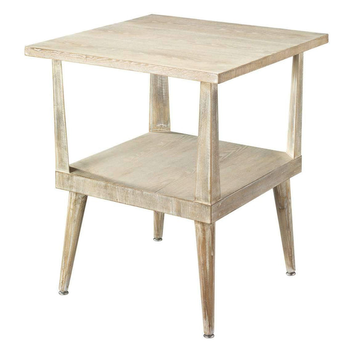 Arlo Side Table in Grey Wood