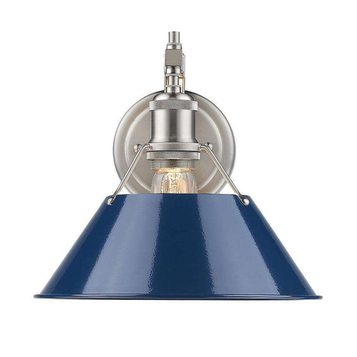 Shop Bathroom Wall Sconces Tagged Coloroptionsblue France Son - Bathroom wall sconce with shade