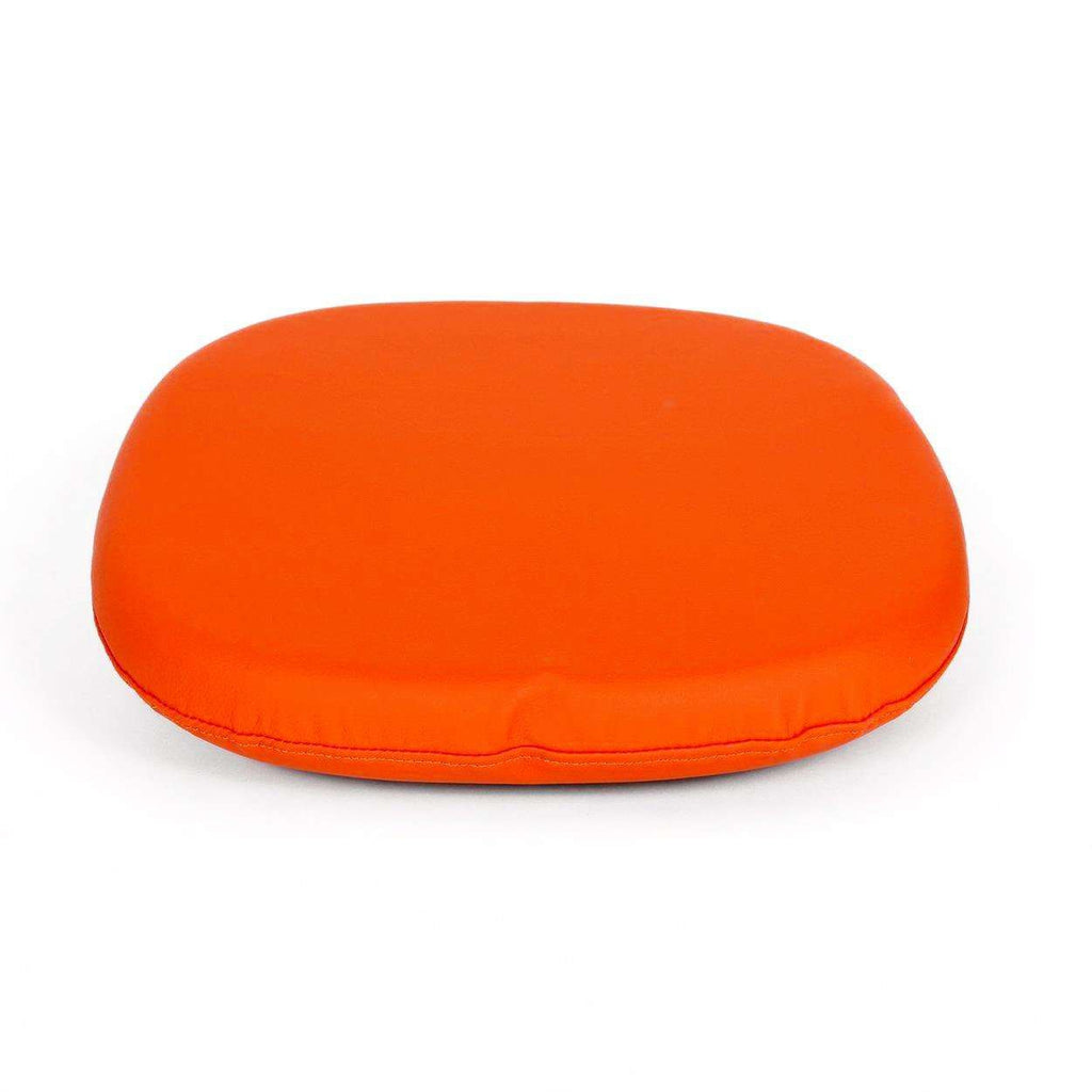 Mid-Century Modern Reproduction Tulip Side Chair Cushion-Orange Inspired by Eero Saarinen