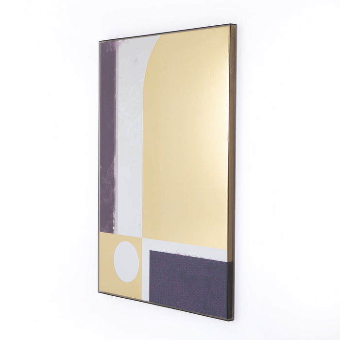 Rhapsody Gold Diptych By Coup D'Esprit