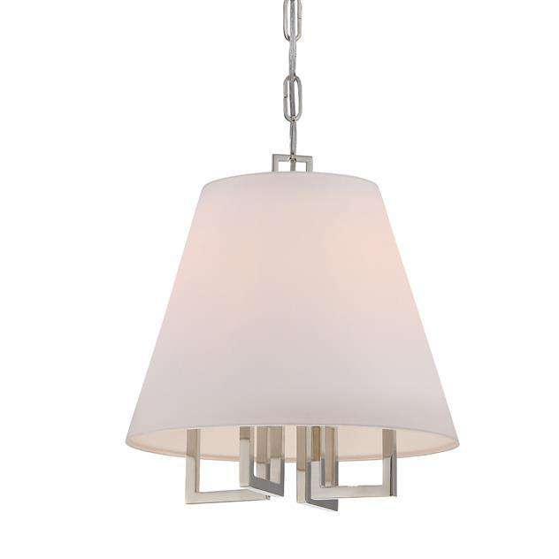 Libby Langdon Westwood 4 Lt Nickel Mini Chandelier