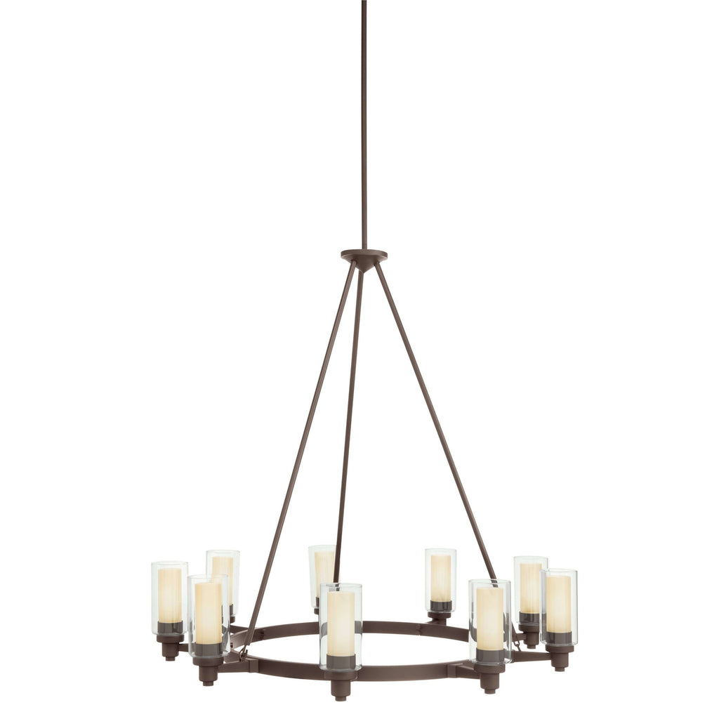 Circolo Chandelier 9 Light - Olde Bronze