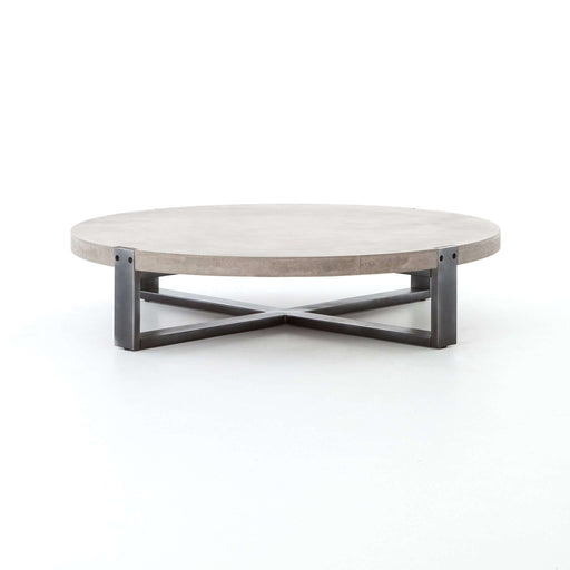 FOURHANDS-MERCURY ROUND COFFEE TABLE-FH-VBNA-CT415