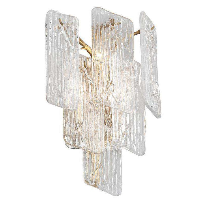 Piemonte 3Lt Wall Sconce Royal Gold