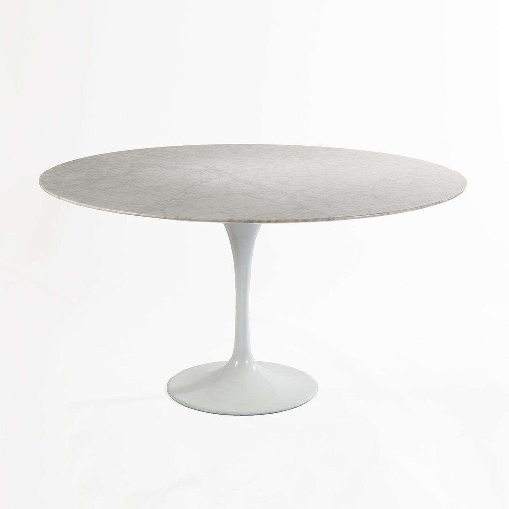 MidCentury Modern Reproduction Marble Tulip Dining Table - Saarinen outdoor dining table