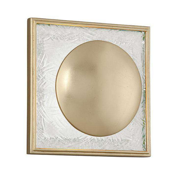 Trance 1Lt Wall Sconce Gold Leaf